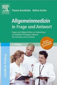Allgemeinmedizin in Frage und Antwort - copertina