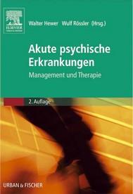 Akute psychische Erkrankungen - copertina