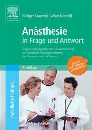 Anästhesie in Frage und Antwort - copertina