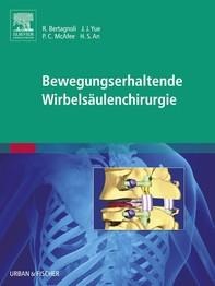 Bewegungserhaltende Wirbelsäulenchirurgie - Librerie.coop