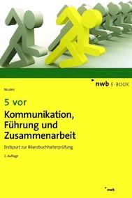 5 vor Kommunikation, Führung und Zusammenarbeit - copertina