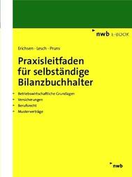 Praxisleitfaden für selbständige Bilanzbuchhalter - copertina
