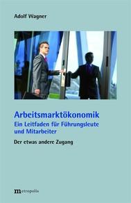 Arbeitsmarktökonomik - copertina