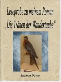 """Leseprobe zu meinem Roman """"Die Tränen der Wandertaube"""" - Librerie.coop"""