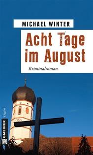 Acht Tage im August - copertina