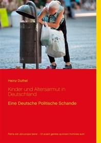 Kinder und Altersarmut in Deutschland - Librerie.coop