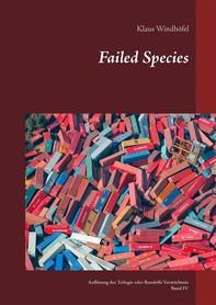 Failed Species - Librerie.coop