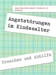 Angststörungen im Kindesalter - Librerie.coop