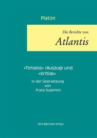 Die Berichte von Atlantis - Librerie.coop