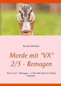 "Morde mit ""VX"" 2/3 - Remagen - Librerie.coop"