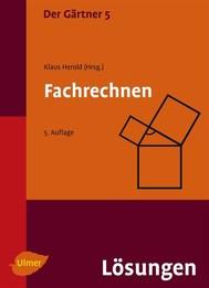 Der Gärtner 5. Fachrechnen. - copertina