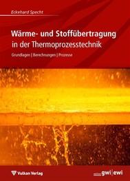 Wärme- und Stoffübertragung in der Thermoprozesstechnik - copertina
