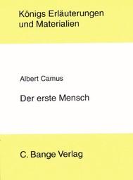Der erste Mensch von Albert Camus. Textanalyse und Interpretation. - copertina
