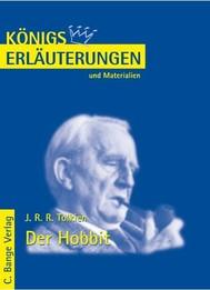 Der Hobbit  - The Hobbit von J.R.R. Tolkien. Textanalyse und Interpretation. - copertina