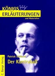 Der Kontrabaß von Patrick Süskind.  Textanalyse und Interpretation. - copertina
