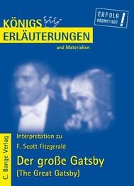 Der große Gatsby - The Great Gatsby von F. Scott Fitzgerald. Textanalyse und Interpretation. - copertina