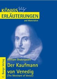 Der Kaufmann von Venedig - The Merchant of Venice von William Shakespeare. Textanalyse und Interpretation. - copertina