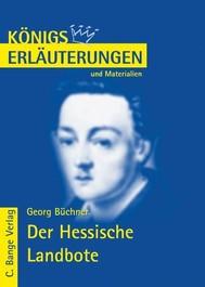 Der Hessische Landbote von Georg Büchner.  Textanalyse und Interpretation. - copertina