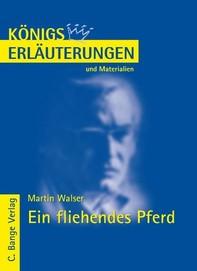 Ein fliehendes Pferd von Martin Walser. Textanalyse und Interpretation. - Librerie.coop