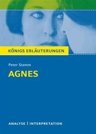 Agnes von Peter Stamm. Königs Erläuterungen. - copertina