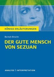 Der gute Mensch von Sezuan von Bertolt Brecht. - copertina