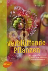 88 verblüffende Pflanzen - copertina