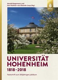 Universität Hohenheim 1818–2018 - Librerie.coop
