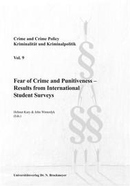 Fear of Crime and Punitiveness - copertina