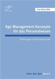 Age Management-Konzepte für das Personalwesen - copertina