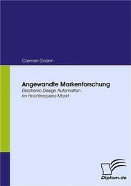 Angewandte Markenforschung - copertina
