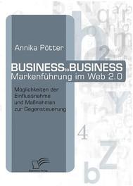 Business-to-Business Markenführung im Web 2.0 - copertina