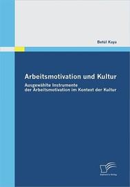 Arbeitsmotivation und Kultur - copertina