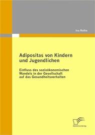 Adipositas von Kindern und Jugendlichen - copertina