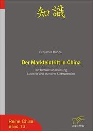 Der Markteintritt in China - copertina