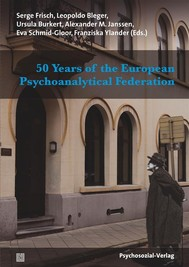 50 Years of the European Psychoanalytical Federation - copertina