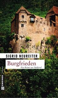 Burgfrieden - copertina
