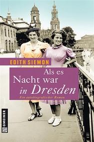 Als es Nacht war in Dresden - copertina