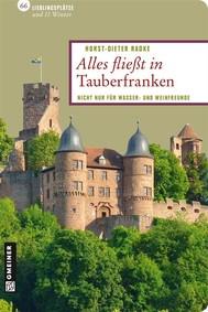 Alles fließt in Tauberfranken - copertina
