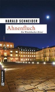 Ahnenfluch - copertina