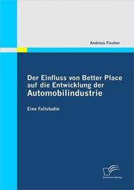Der Einfluss von Better Place auf die Entwicklung der Automobilindustrie - copertina