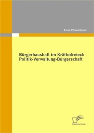 Bürgerhaushalt im Kräftedreieck Politik-Verwaltung-Bürgerschaft - copertina