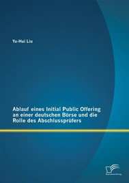Ablauf eines Initial Public Offering an einer deutschen Börse und die Rolle des Abschlussprüfers - copertina