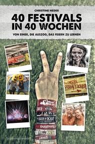 40 Festivals in 40 Wochen - copertina