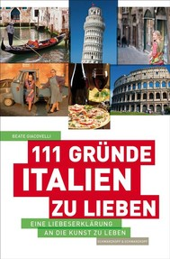 111 Gründe, Italien zu lieben - copertina