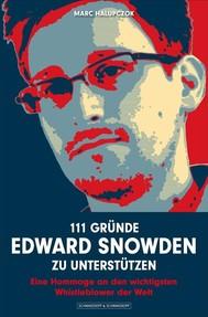 111 Gründe, Edward Snowden zu unterstützen - copertina