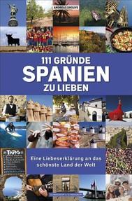 111 Gründe, Spanien zu lieben - copertina