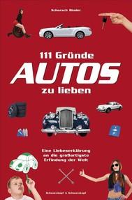 111 Gründe, Autos zu lieben - copertina