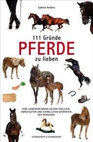 111 Gründe, Pferde zu lieben - copertina