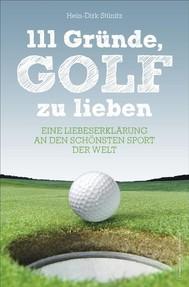 111 Gründe, Golf zu lieben - copertina