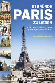 111 Gründe, Paris zu lieben - copertina
